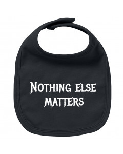 Metal baby bib nothing else matters