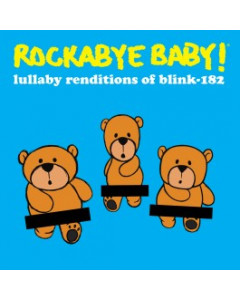 Rockabyebaby CD Blink-182 Lullaby Baby CD