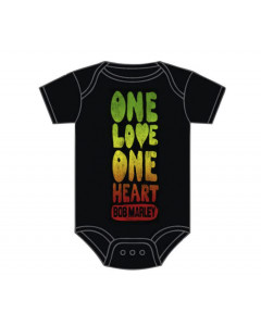 Bob Marley Onesie Baby Rocker One Love One Heart