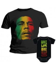 Bob Marley Father's T-shirt & Bob Marley Onesie