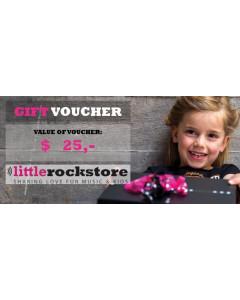 Gift Voucher $25,-
