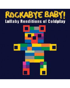 Rockabyebaby CD Coldplay Lullaby Baby CD