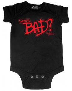 Michael Jackson Onesie Baby Creeper Who's Bad