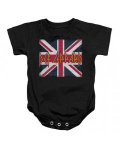 Def Leppard Onesie Baby Rocker Lil Union Jack