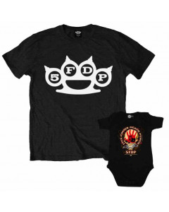 Five Finger Death Punch Father's T-shirt & Onesie Baby