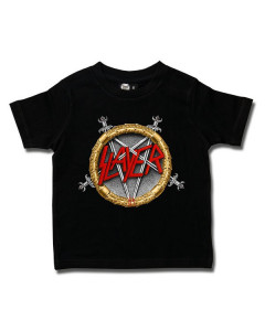 Slayer Kids/Toddler T-shirt - Pentagram Metal-Kids