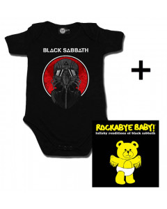 Giftset Black Sabbath Baby Onesie 2014 & Black Sabbath CD