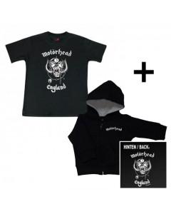 Giftset Motörhead Baby Hoody & Motörhead Baby T-shirt