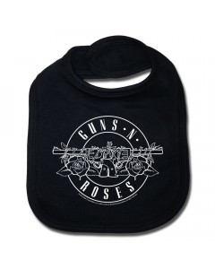 Guns n' Roses Baby Rock Bib logo