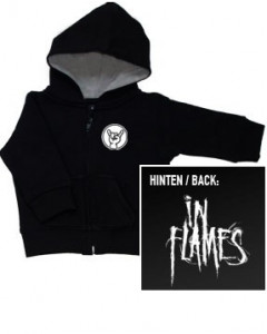 In Flames Kids Hoody Zip Logo (print on demand)