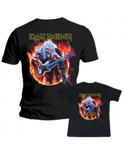 Iron Maiden Father's T-shirt & Kids/Toddler T-shirt