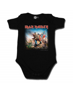 Iron Maiden Onesie Metal Baby Rocker Trooper