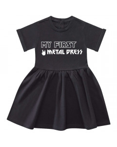 My First Metal baby dress