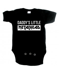 Metal Baby Onesie daddys little metal head