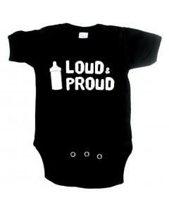 Cool Baby onesie loud and proud