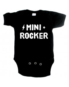 rock baby onesie mini rocker