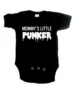 punk baby onesie mommy's little punker