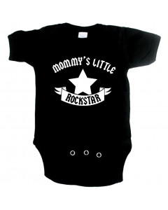 rock baby onesie mommy's little rockstar