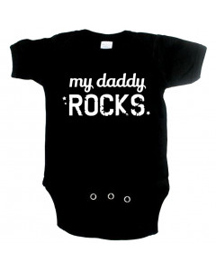 Cool Baby onesie my daddy rocks