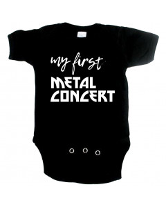 Metal Baby Onesie my first metal concert