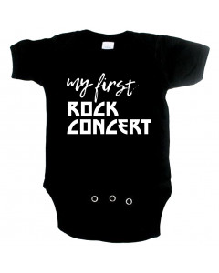 rock baby onesie my first rock concert