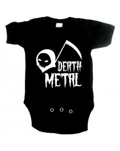 Metal Baby Onesie death metal