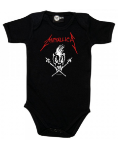 Metallica Onesie Baby Rocker Scary Guy