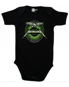 Metallica Onesie Baby Rocker Seek and Destroy