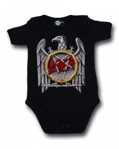 Slayer Onesie Eagle | Slayer metal baby Clothes