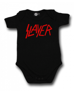 Slayer Onesie Baby Rocker Logo – metal onesies