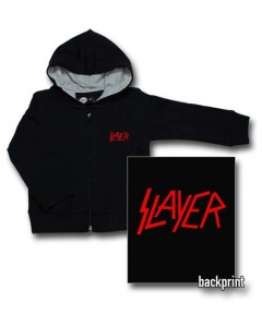 Slayer Baby Hoody Logo Red (Print On Demand)