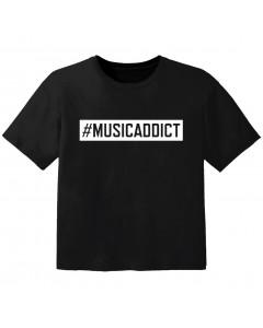 cool baby t-shirt #musicaddict