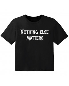metal baby t-shirt nothing else matters