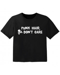 punk baby t-shirt punk hair don't care