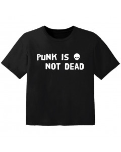 punk baby t-shirt punk is not dead