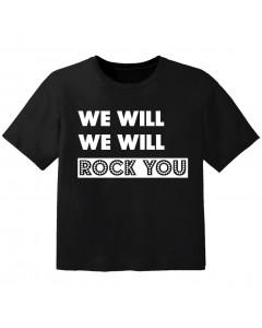 rock kids t-shirt we will we will rock you
