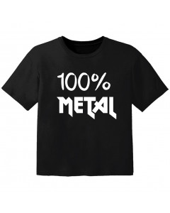 Metal kids t-shirt 100% metal