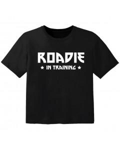 Cool Kids t-shirt roadie in training