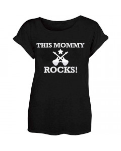 Cool Mother's T-shirt This Mommy Rocks