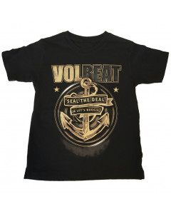 Volbeat Kids/Toddler T-shirt - Tee Seal the deal