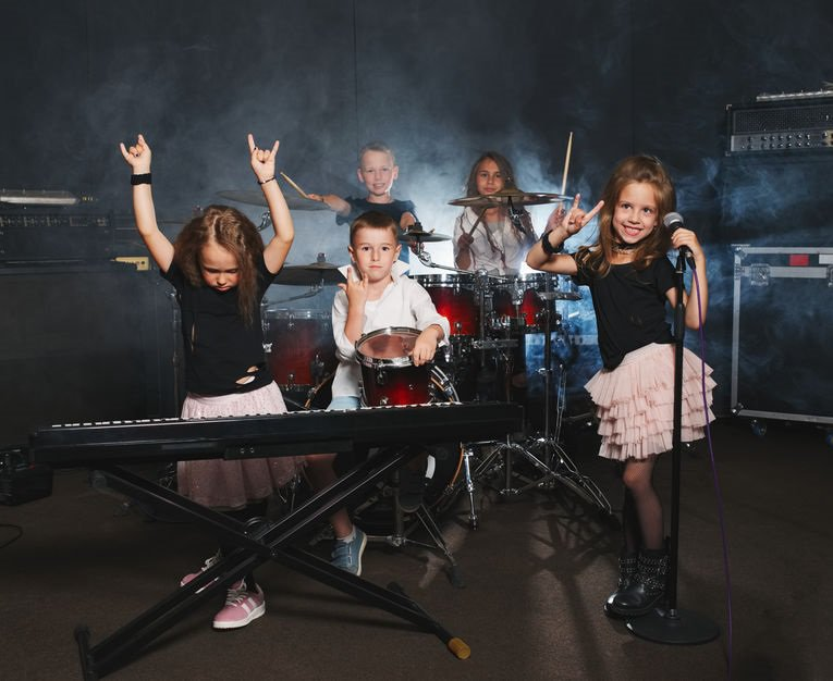 Are your kids bored? Form your own rock band!