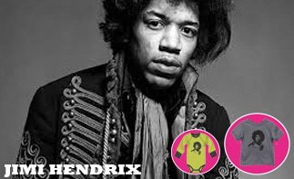 Jimi Hendrix Baby & Kids clothes