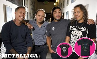 Metallica Baby and Kids Clothes