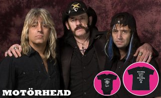 Motörhead Baby and Kids Clothes